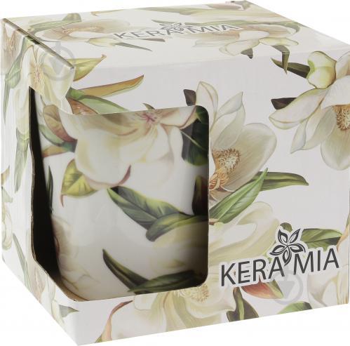 Чашка Белая магнолия 330 мл Keramia - фото 6