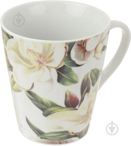 Чашка Белая магнолия 330 мл Keramia - фото 5