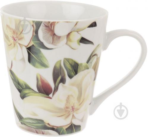 Чашка Белая магнолия 330 мл Keramia - фото 4