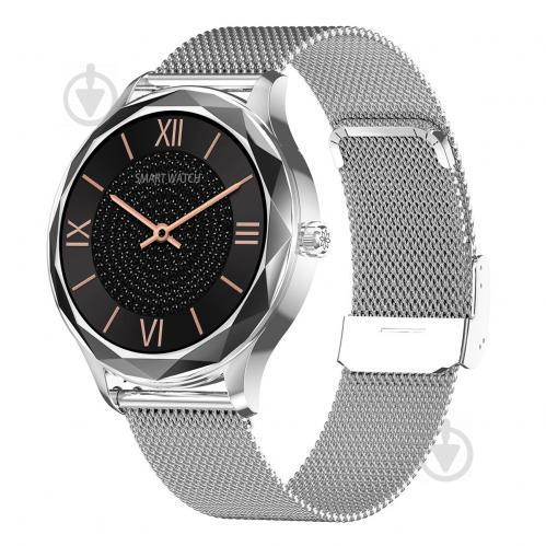 Смарт-часы NO.1 DT86 Silver (тонометр, пульсоксиметр) - фото 1