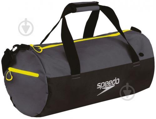 7345cc9af5ea ᐉ Спортивна сумка Speedo Duffel Bag 809190A877 чорно-сірий • Краща ...