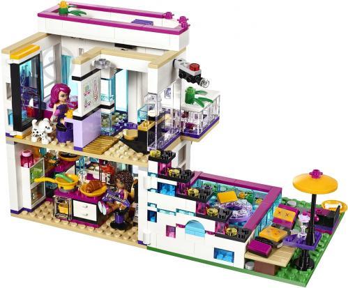 Конструктор LEGO Friends Дім поп-зірки Ліві 41135 - фото 2