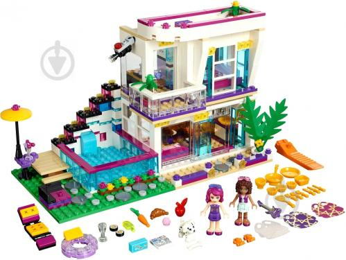 Конструктор LEGO Friends Дім поп-зірки Ліві 41135
