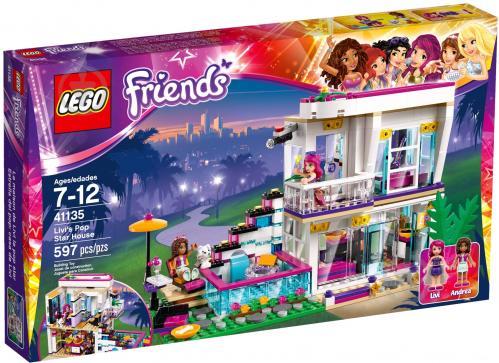 Конструктор LEGO Friends Дім поп-зірки Ліві 41135 - фото 9