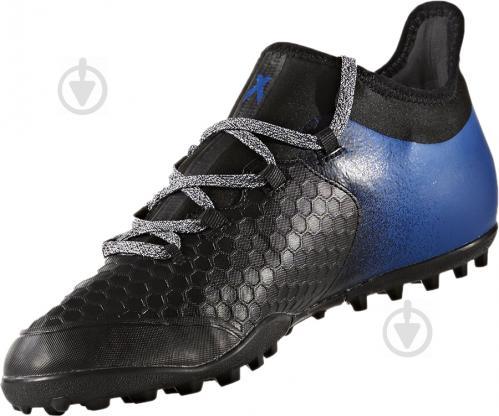 Футбольные бутсы Adidas X TANGO BA9470 р. 9 черно-синий - фото 2