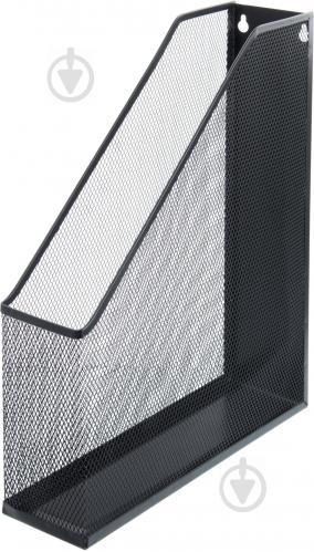 Лоток для паперів LY-9301 25x7.2x32 см чорний - фото 1