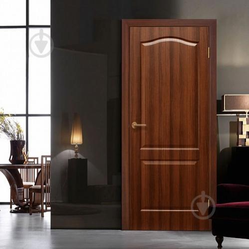 Дверне полотно ОМіС Класика ПГ 600 мм горіх - фото 2