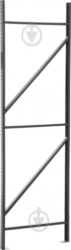 Стійка для стелажа Атлант-400 1800x40x550 мм сірий - фото 1
