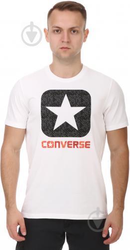 Футболка Converse Texture Boxstar Fill Tee 10003677-102 M белый