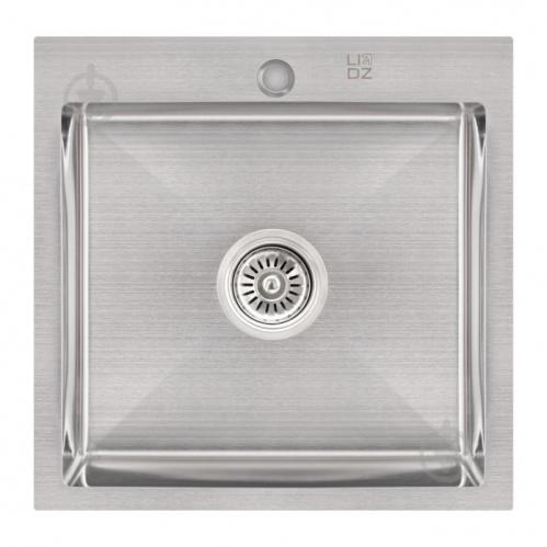 Кухонна мийка Lidz H5050 Brush 3.0 / 1.0 мм (LIDZH5050BRU3010) SD00041479 - фото 1