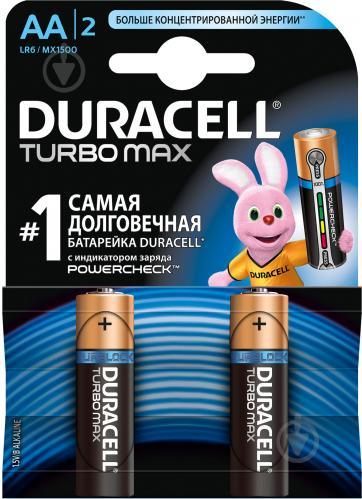 Батарейки DURACELL TURBO MAX R3 (мініпальчик)