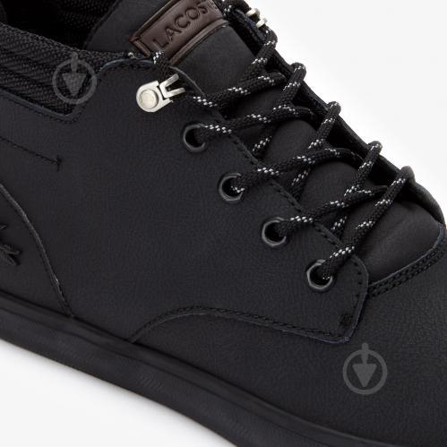 Ботинки Lacoste 738CMA003002H р. 7,5 черный - фото 6