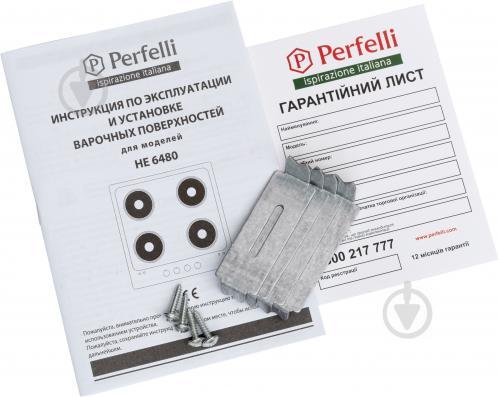 Варильна поверхня Perfelli HE 6480 BL - фото 5