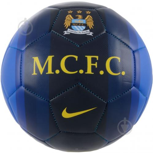 Футбольний м'яч   Nike  SC2420-447  Manchester City Pitch   р. 5 - фото 1
