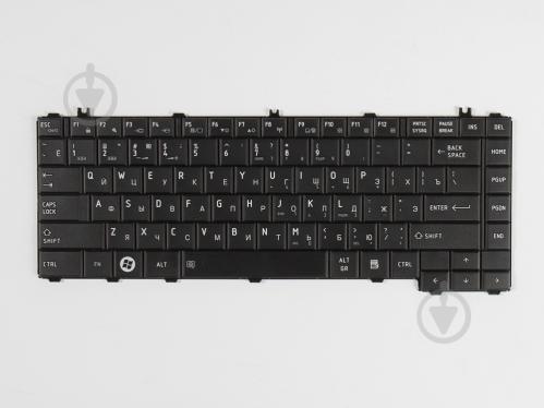 Клавиатура для ноутбука Toshiba Satellite C600/C600/C600D Черная (A2287) - фото 1