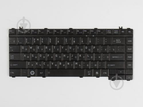 Клавиатура для ноутбука Toshiba L455/L455D/L510/L515/M200 Черная (A2285) - фото 1
