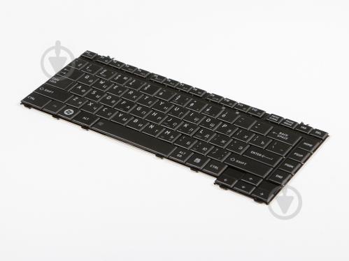 Клавиатура для ноутбука Toshiba L300D/L305/L305D/L450/L450D Черный (A2284) - фото 1