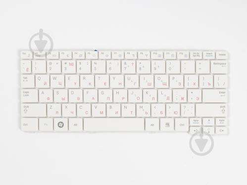 Клавиатура Cameron Sino для ноутбука SAMSUNG NF110 White RU (A52005) - фото 1