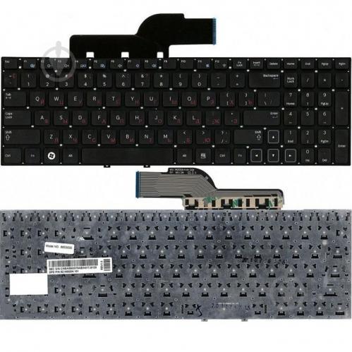 Клавиатура Cameron Sino для ноутбука SAMSUNG NP300E5/NP300V5/NP305E5/NP305V5 series Black RU (A52061 - фото 1