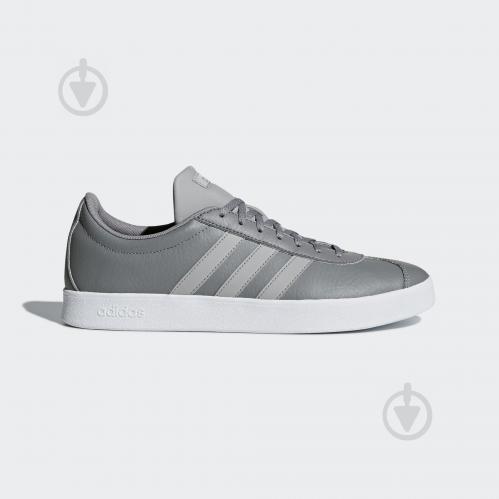 Кроссовки Adidas VL COURT 2.0 B43818 р.9 серый
