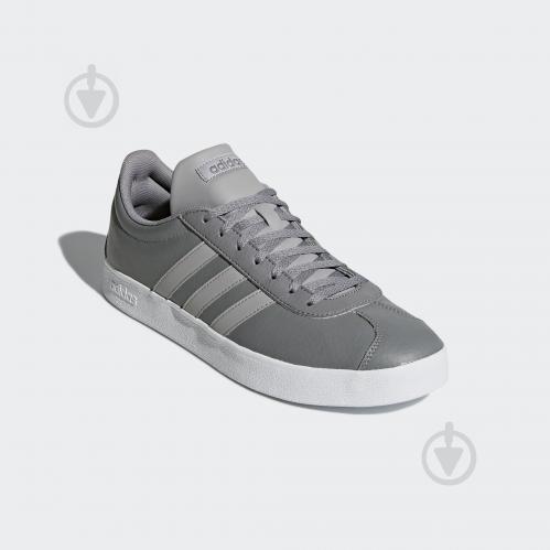 Кроссовки Adidas VL COURT 2.0 B43818 р.9 серый - фото 4