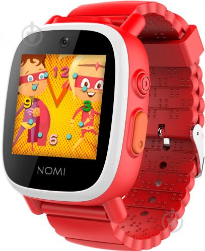 ᐉ Смарт-годинник Nomi W2 red Kids Heroes • Краща ціна в Києві ... 0f270d76e04e7