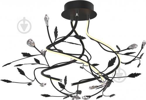 Люстра світлодіодна Blitz 1707-43 30 Вт чорний