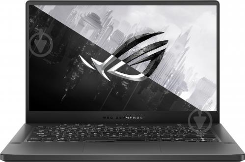 Ноутбук Asus ROG Zephyrus G14 GA401II-BM209 14 (90NR03J3-M05100) grey - фото 1