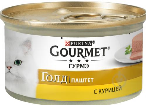 Корм Gourmet Gold паштет з куркою 85 г - фото 1