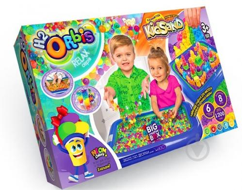 Набор для творчества Danko Toys BIG CREATIVE BOX H2Orbis укр. (4) - фото 1
