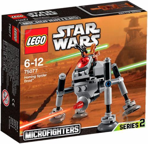 Конструктор LEGO Star Wars Самонавідний дроїд-павук 75077 - фото 1