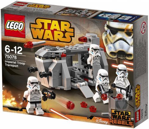 Конструктор LEGO Star Wars Транспорт імперських військ 75078 - фото 1