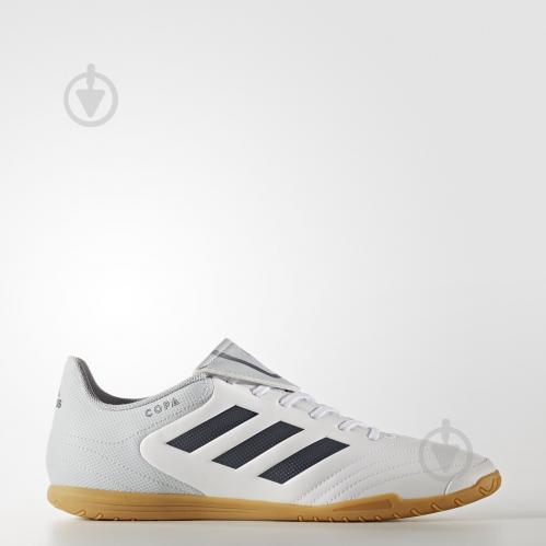 Бутсы Adidas Copa 17.4 IN S77149 р. 10,5 белый