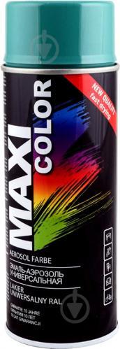 Эмаль Maxi Color аэрозольная универсальная декоративная RAL 6033 бирюзовый глянец 400 мл