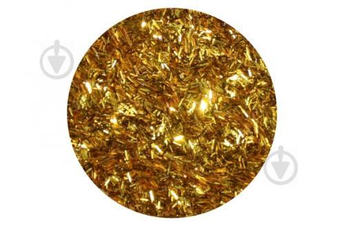 Глітер Bioplast золотий 0,015кг - фото 1
