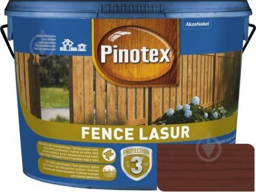 Деревозащитное средство Pinotex fence lazur красное дерево мат 2,5 л - фото 1