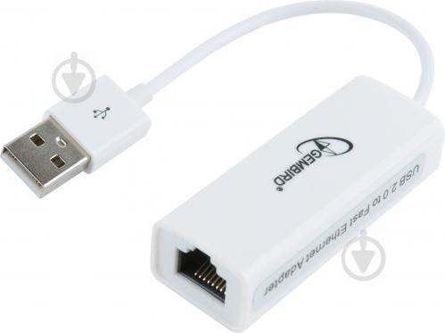Адаптер Gembird NIC-U2-02 з USB - фото 1