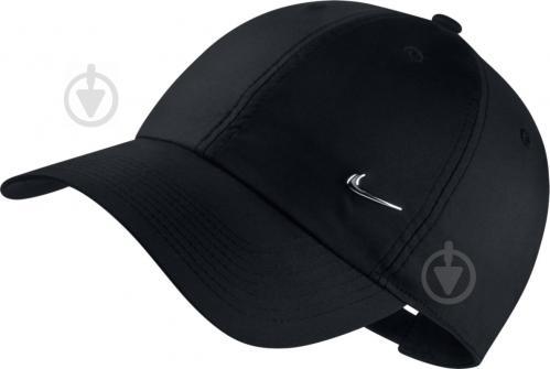 a1374d3e58151c ᐉ Бейсболка Nike U NK H86 CAP METAL SWOOSH 943092-010 OS чорний ...