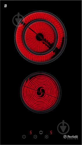 Варильна поверхня Perfelli Design HVC 3210 BL - фото 1