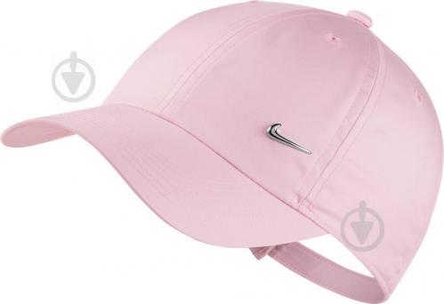 ad51bb91d6f24d ᐉ Бейсболка Nike Y NK H86 CAP METAL SWOOSH AV8055-663 OS рожевий ...