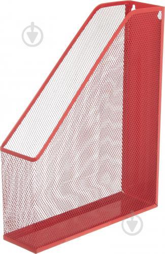 Лоток для паперів червоний 338x248x70 мм - фото 1