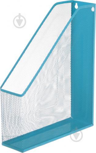 Лоток для паперів блакитний 338x248x70 мм - фото 1