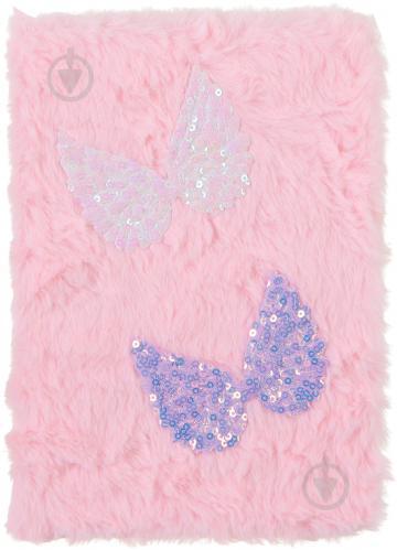 Блокнот пухнастий Крильця - фото 1