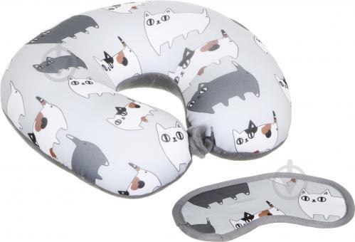 ᐉ Набір дорожній Подушка + маска Подорож додому Luna • Краща ціна в ... 30a8a4d65dec2