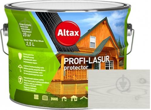 Лазурь Altax PROFI-LASUR protector Белый мат 2,5 л - фото 1