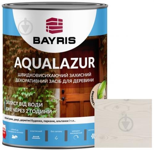 Лазурь Bayris Aqualazur Белый мат 0,75 л - фото 1