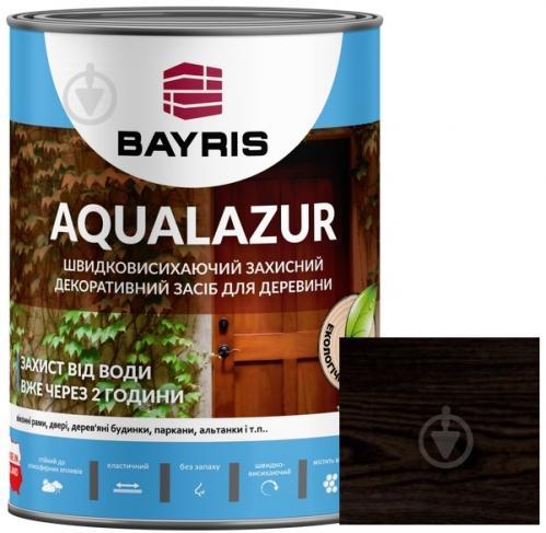 Лазурь Bayris Aqualazur Палисандр мат 0,75 л - фото 1