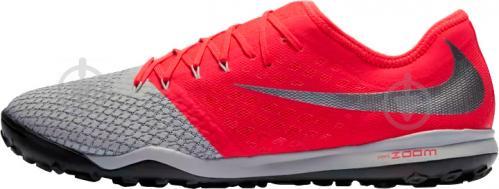 Бутси Nike ZOOM HYPERVENOM 3 PRO TF AJ3817-060 р. 10 сірий - фото 3