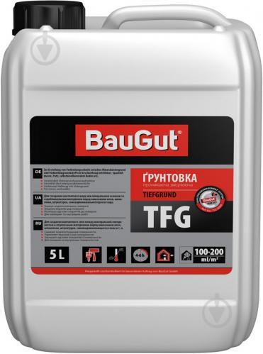 Грунтовка глубокопроникающая BauGut TFG укрепляющая 5 л - фото 1
