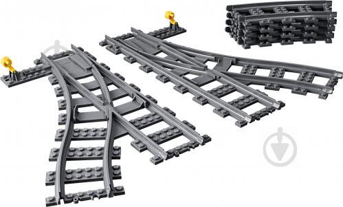 Конструктор LEGO City Залізничні стрілки 60238 - фото 3